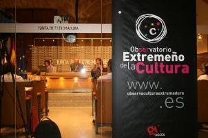 Presentación Oficial del Observatorio Extremeño de la Cultura