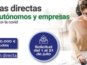 Ayudas directas para empresas y autónomos afectados por la COVID-19
