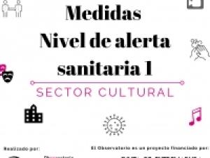 Extremadura vuelve al Nivel Alerta Sanitaria 1:  medidas que afectan al sector cultural.